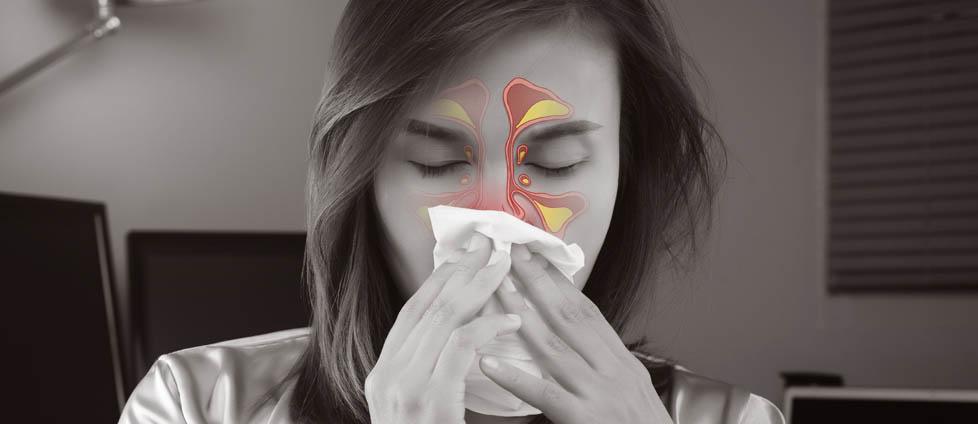 Zatoki czolowe nosowe zapalenie